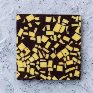 Tavoletta di cioccolato fondente con limone e rosmarino Terrazzo