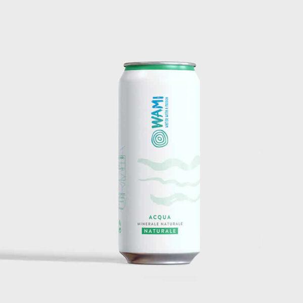 acqua in lattina Wami 330ml