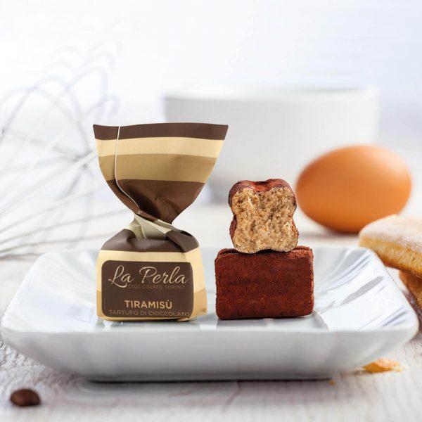 tartufi di cioccolato al tiramisù La Perla da Mascherpa Milano